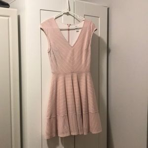 Beautiful spring-pink dress